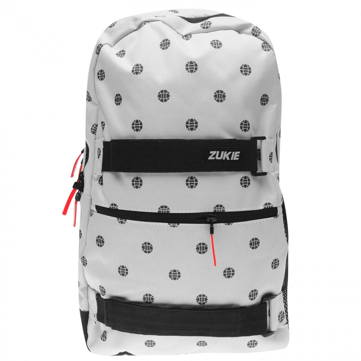 Zukie Skate Pattern Backpack Mens