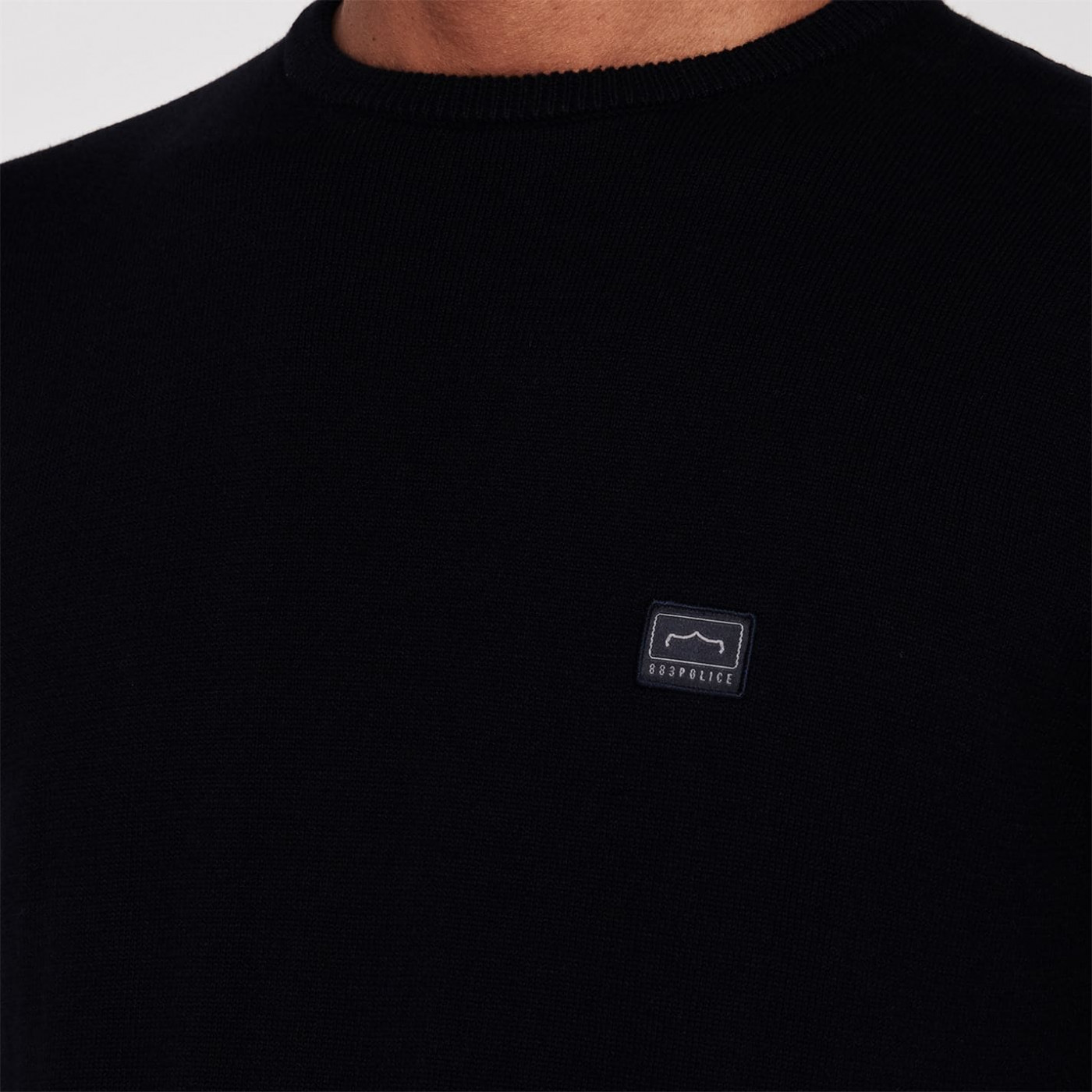 883 Police Crew Neck Knitted Jumper