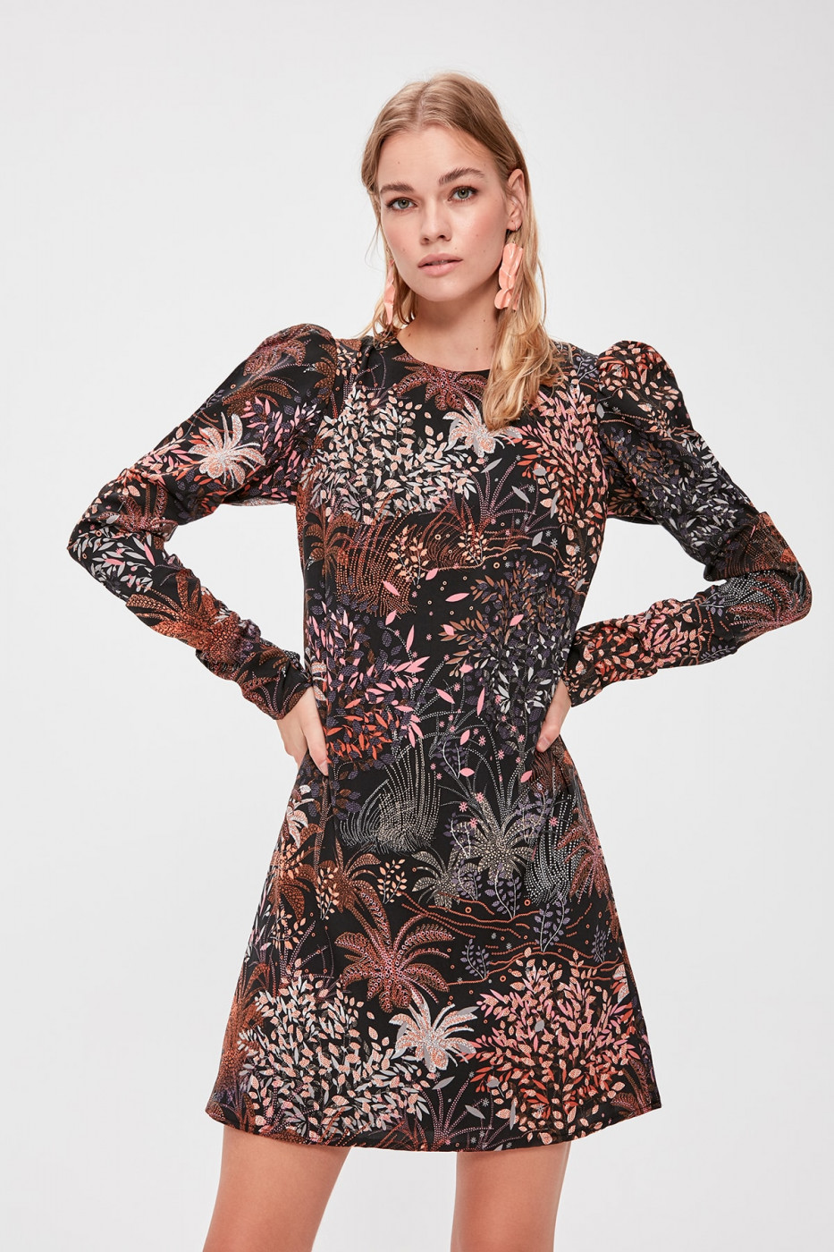 Trendyol Multi-coloured Patterned Dress