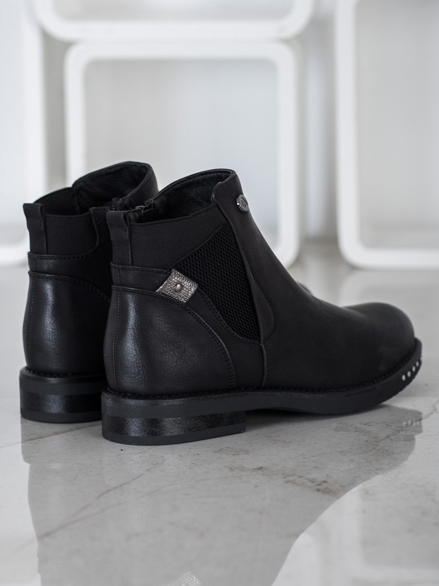 Goodin Eco Leather Booties