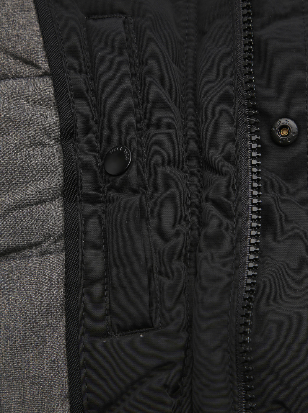 Black Winter Parka Burton Menswear London
